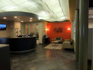 Ticon Reception Area