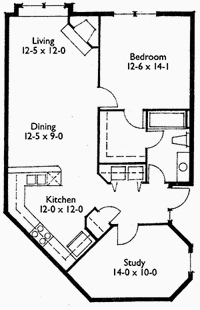 Suite 203 Floor Plan