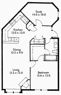 Suite 204 Floor Plan