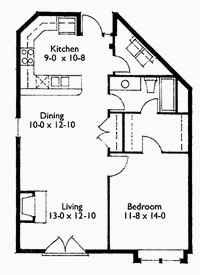 Suite 209 Floor Plan