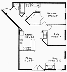 Suite 210 and 211 Floor Plan
