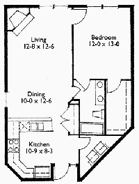 Suite 212 Floor Plan