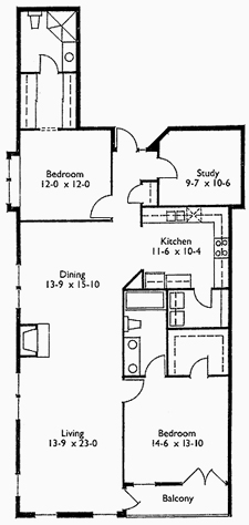 Suite 301 Floor Plan