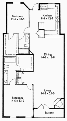 Suite 302 Floor Plan