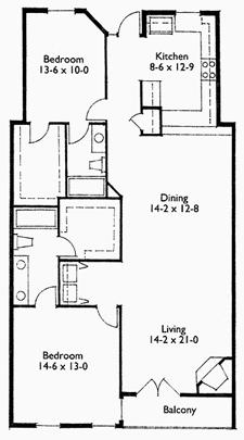 Suite 302 Floor Plan