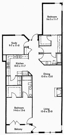 Suite 303 Floor Plan