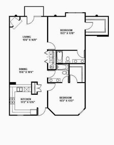 Suite 216 Floor Plan