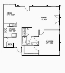 Suite 219 Floor Plan