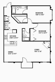 Suite 220 Floor Plan