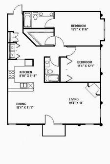 Suite 220 Floor Plan